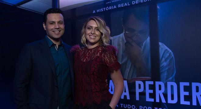Renato Cardoso e Cristiane Cardoso chegam ao evento