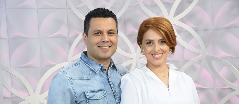 Renato e Cristiane Cardoso comandam o The Love School - Escola do Amor aos sábados na tela da Record TV