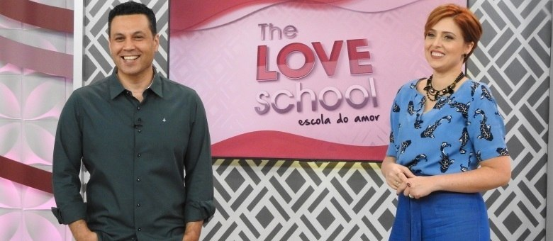 Renato e Cristiane Cardoso comandam o The Love School - Escola do Amor deste sábado (1º)