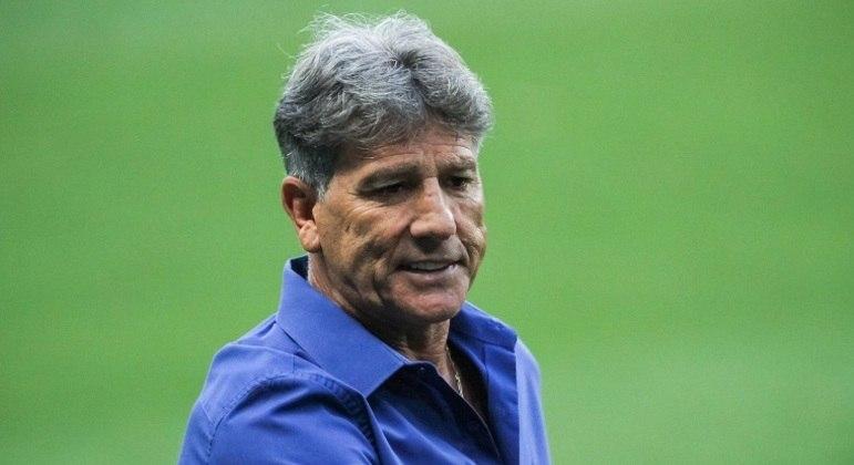 Renato é o técnico com mais jogos na história do Grêmio