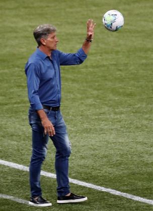 Sonho antigo por Renato GaúchoO treinador está sem clube desde abril e não é nenhum segredo que a diretoria e torcida do Flamengo gostariam de vê-lo comandando a equipe rubro-negra. Ceni, sendo constantemente ameaçado com pedidos por Renato Gaúcho, não tem um segundo de paz no comando do Fla