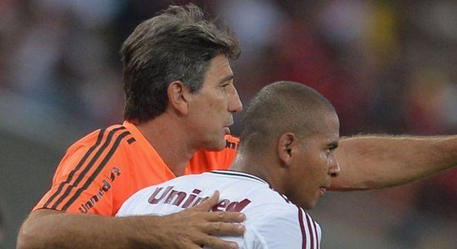 Renato Gaúcho fez de tudo para tentar recuperar Walter. Não conseguiu