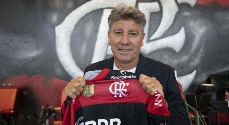 Renato Gaúcho. 'Treinar o Flamengo é a mesma coisa que a seleção brasileira'
