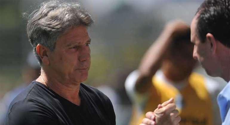 Renato Gaúcho e Rogério Ceni. Os maiores ídolos do Grêmio e do São Paulo