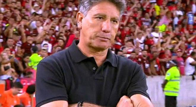 Goleada por 5 a 0, na Libertadores, mostrou a diferença em Jesus e Renato Gaúcho