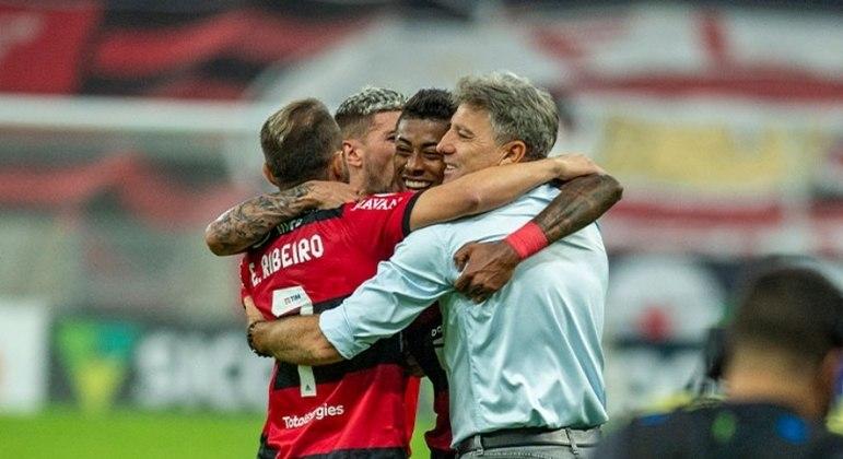 Renato Gaúcho e Flamengo. Quatro vitórias em quatro jogos. Nada é por acaso