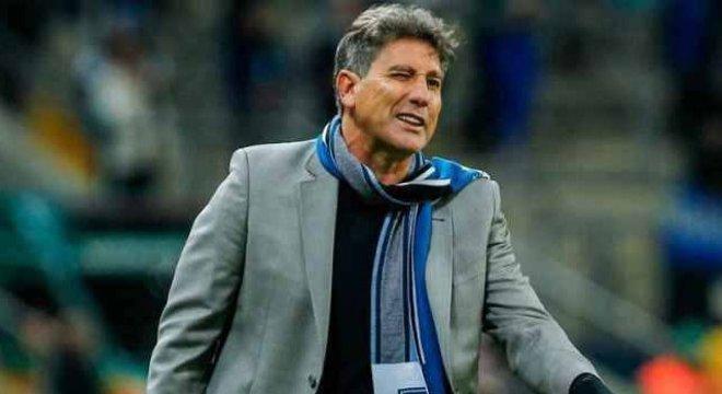 Renato Gaúcho não teve medo de atacar o milionário Palmeiras