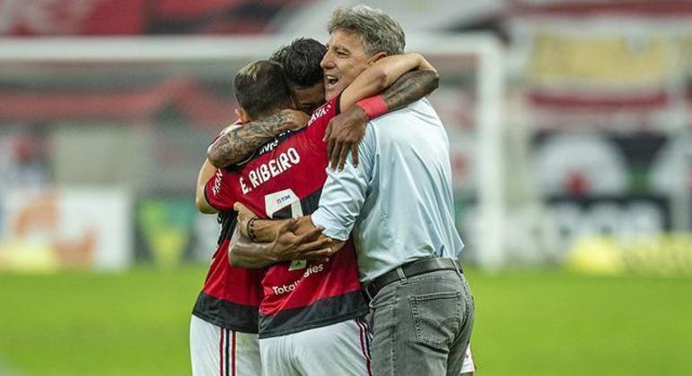O entrosamento entre Renato Gaúcho e o Flamengo está sendo excelente