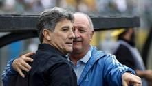 Grêmio decide acabar com a dependência de Felipão e Renato