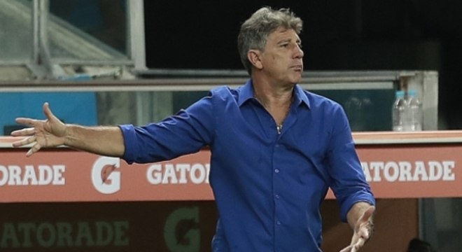 Renato Gaúcho ficou irritado com a atuação Itamar