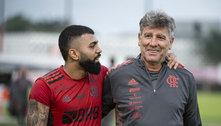 Renato Gaúcho conseguiu reverter a filosofia do Flamengo. Reservas contra o América