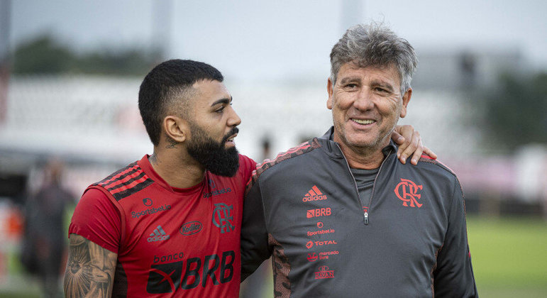 Renato Gaúcho convenceu a direção do Flamengo. Reservas amanhã contra o América Mineiro