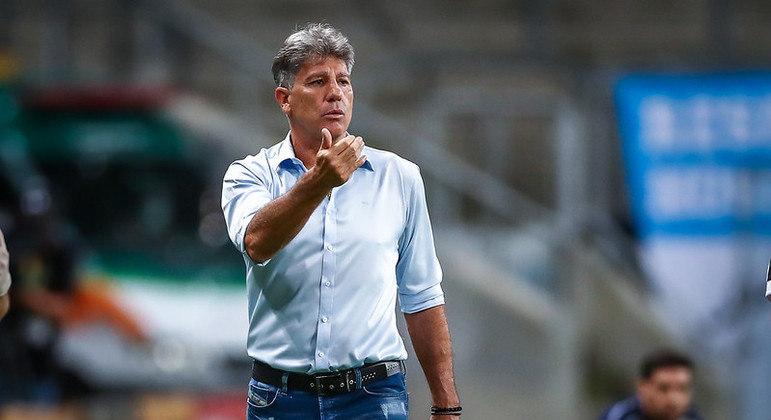Renato Gaúcho ficou 4 anos e 7 meses como técnico do Grêmio