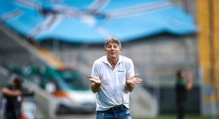 Renato Gaúcho é idolatrado pela torcida