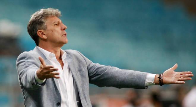 Apesar dos títulos, Renato Gaúcho tem trabalho questionado no Grêmio em 2020