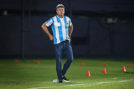 Renato Gaúcho utilizou camisa da Argentina