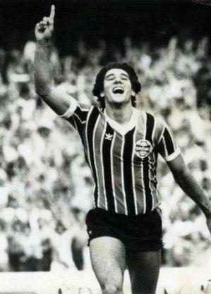 Renato brilhou como jogador