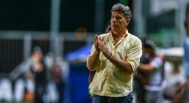 Renato recebeu alta do hospital nesta segunda-feira Crédito: Lucas Uebel / Grêmio / Divulgação / CP