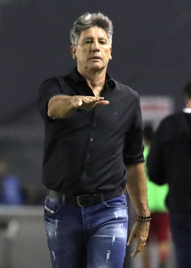 Renato Gaúcho foi surpreendido pela coragem, vibração, intensidade do time de Cuca
