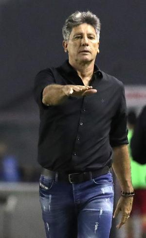 Renato não evitou queda gremista