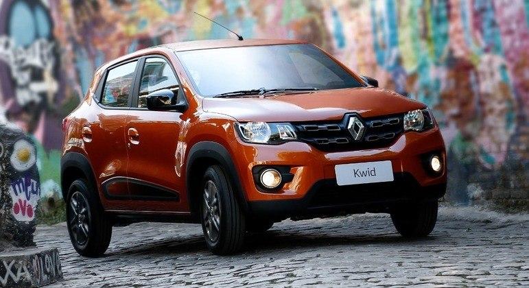 Renault Kwid teve 4.865 unidades emplacadas em julho