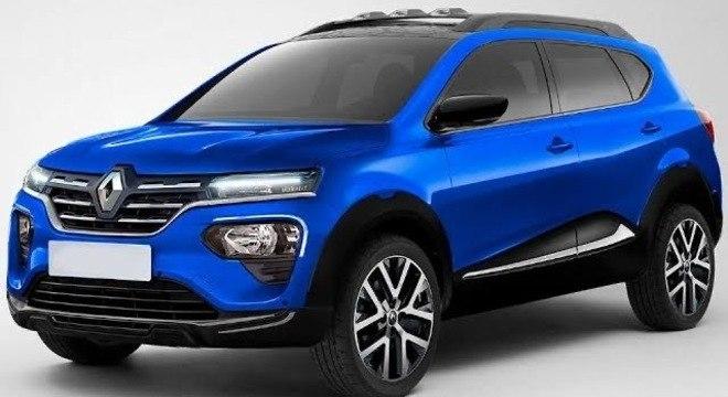 Estilo do Renault parece mais comportado nesta projeção