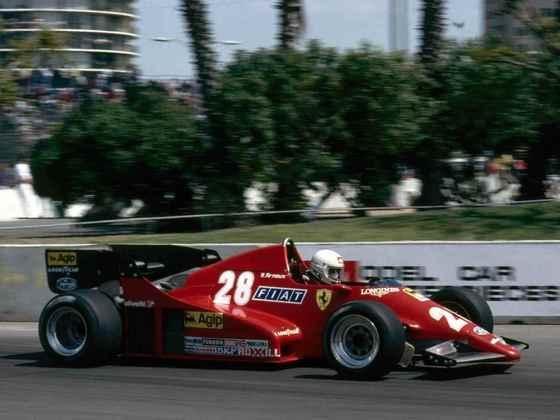 René Arnoux brigou pelo título da temporada 1983 até a última corrida, mas ficou mesmo em terceiro no campeonato