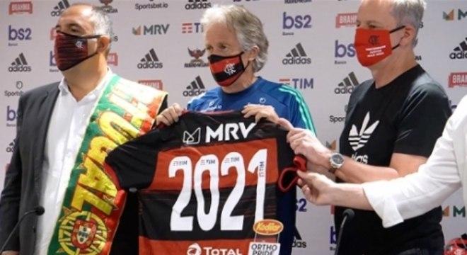 Renovação Jorge Jesus - Flamengo 2021