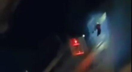 Jogador foi resgatado pelos bombeiros