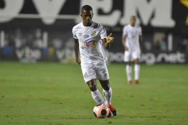 Renyer – Atacante – Santos – 17 anos – Contrato até novembro de 2023 - Valor de mercado: 2 milhões de euros