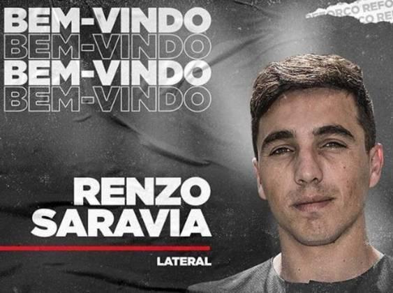 Renzo Saravia - Internacional - 27 anos - lateral-direito - argentino