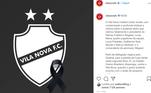 O Vila Nova foi o primeiro clube a se manifestar após acidente aéreo que vitimou seis pessoas, em Palmas. O jogo seria pela Copa Verde