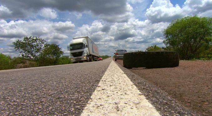 Caminhoneiros falam sobre os riscos de trabalhar na estrada
