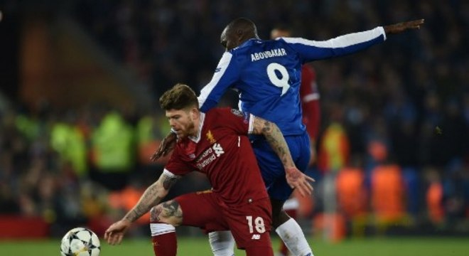 06/03/2018 - Liverpool 0 x 0 Porto - Oitavas de final (Foto: PAUL ELLIS / AFP)