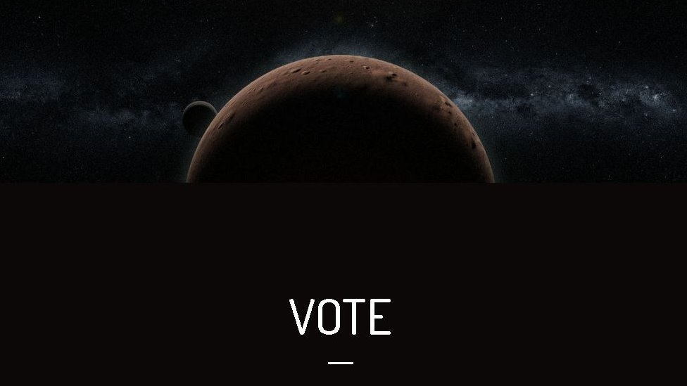 A votação termina no dia 10 de maio e os nomes podem ser escolhidos no site '2007or10.name'