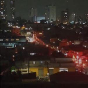 Favela da Alba, em SP, foi palco de uma chacina na noite de sábado