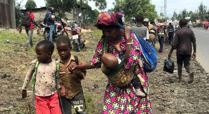 Milhares fogem de cidade da RDC após alerta de nova erupção
