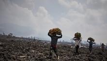 Medo de nova erupção faz 400 mil pessoas deixarem cidade congolesa