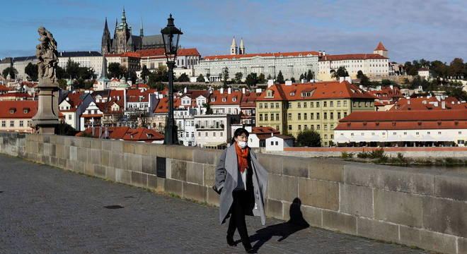 Número de casos na República Tcheca dispararam