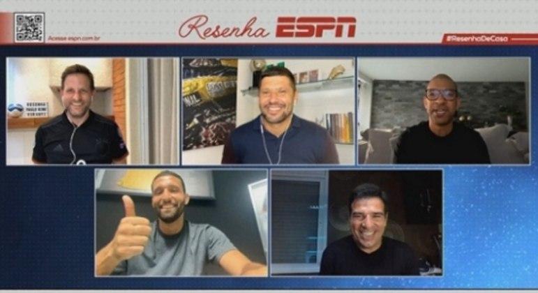 Resenha ESPN recebe ex-brasileiros da seleção alemã