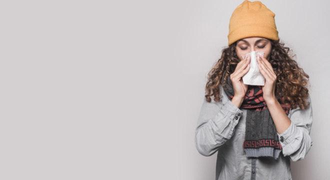 Frio irrita os órgãos do sistema respiratório, aumentado casos de doenças