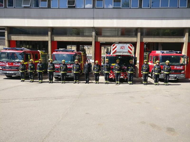 Que se significa fire station en ingles