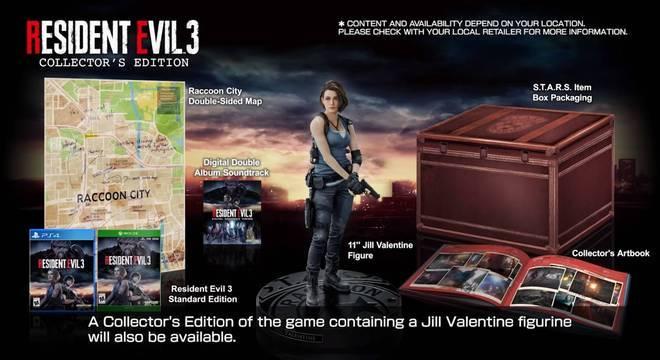 Resident Evil 3: Confira tudo que vem na edição de colecionador