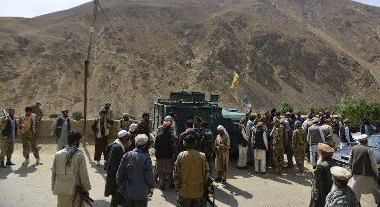 Foco de resistência ao Talibã está concentrado no Vale de Panshir, a cerca de 80 quilômetros de Cabul