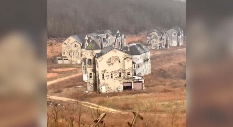 Local está abandonado há 13 anos e se tornou tema de vídeo do TikTok recentemente