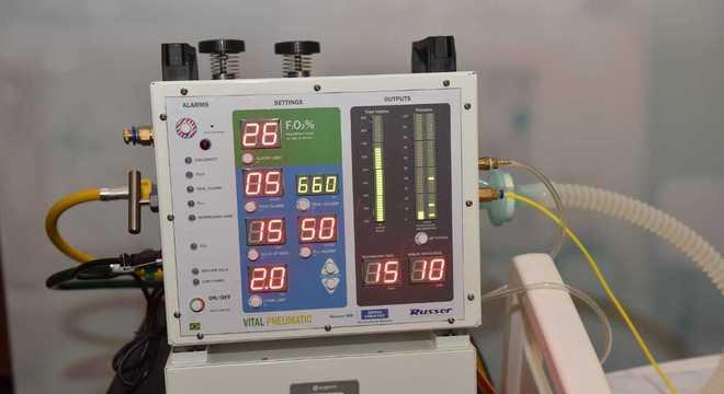 O respirador Vida, desenvolvido pela Nasa e que será produzido no Brasil