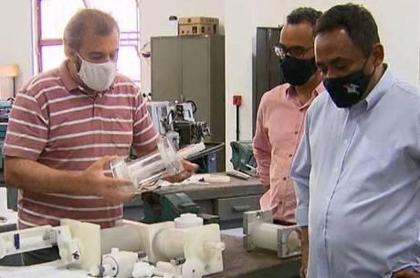 Respirador de baixo custo foi criado por pesquisadores