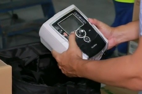 Respiradores comprados pelo governo do Amazonas