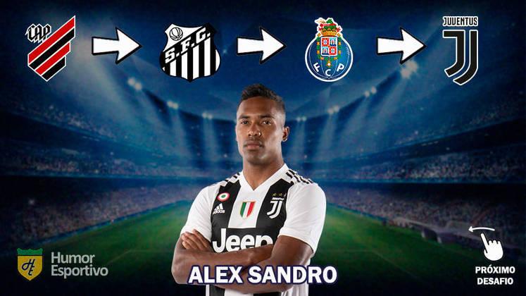 Resposta: Alex Sandro