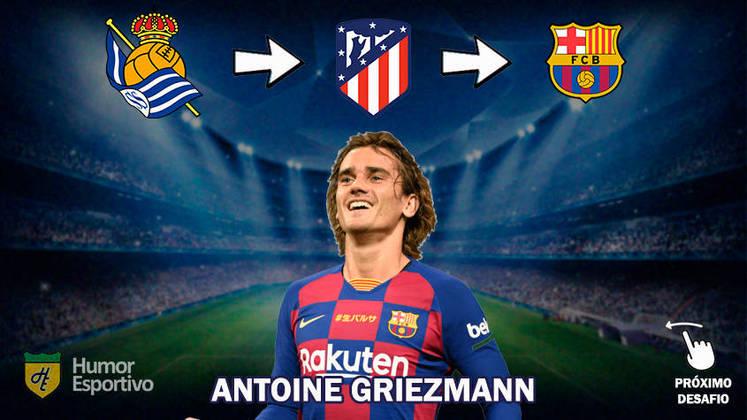Resposta: Antoine Griezmann